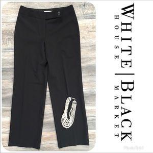 LIKE NEW WHITE HOUSE BLACK MARKET Legacy Pants 00R